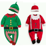 Toddler Baby Kids Christmas Long Sleeve Romper Jumpsuit Playsuit Outfits Set