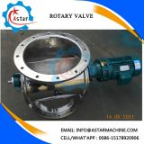 Round Shape Inlet and Outlet Air Lock Rotary Valve