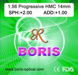 Progressive Cr39 1.56 Short Corridor 12/14mm Hmc Optical Lens