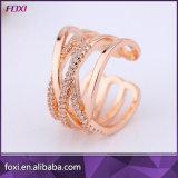2017 Hot Wholesale Fashion Rose Gold Boss Finger Ring