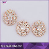 Wholesale 24K Gold Plated Wedding Cubic Zirconia Jewelry Set