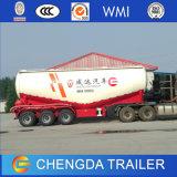 3 Axles 30cbm Bulk Cement Tanker Trailer Concrete Powder Carrier