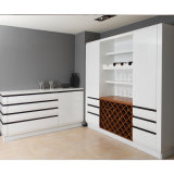 Welbom High Gloss Modern Lacquer Wine Cabinets