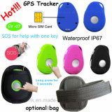 2g Network Mini GPS Tracker with Big Sos Button EV07