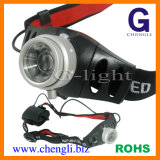 "120lumens CREE 3W LED Zoomable Headlamp with 3PCS 1.5V ""AAA"" Size Battery (LA276A)"