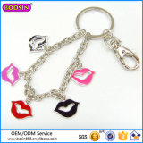 New Products Fashion Jewelry Keychain, Red Clips Charms Key Chain#15538