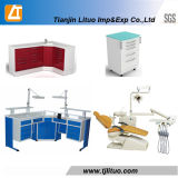 Ce Dental Clinic Laboratory furniture Technical Work Table Cabinet