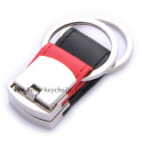 Promotion PU Fashionable Design Leather Keyring (BK20969A)