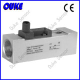 CE Approved Anodized Aluminium Piston Flow Sensor
