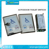 Automatic Door Toilet Switch for Disable