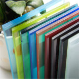 Flat Colored/ Clear Toughened/Float/Tempered Laminated Glass