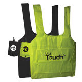 Promotional Fold Away Totes Shopping Bag