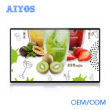 Supermarket Advertising Display Big Size LCD Digital Photo Frame