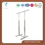 Customized Stylish Adjustable Garment Rack with Hanging Bar