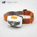 High Power Waterproof Headlamp 3AAA Battery Operated for Camping (T3073)