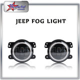 2017 Hot Selling 4 Inch 30W Auto Car LED DRL Fog Light with Halo Ring for Jeep Wrangler