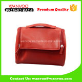 China Suppiler Lady Stylish Handbag PU Leather Cosmetic Bag