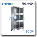 Medical Stainless Steel Storage Metal Cupboard for Hospital Use