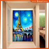 The Paris Tower Abstract Oil Painting on Canvas for Living Room Wall Decoration Model No: Hx-4-059