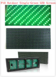 P10 Single Green Outdoor LED Module Screen Text Display
