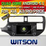 Witson Android 5.1 Car DVD for KIA K3/Rio 2012/Fortek3 (W2-F9583K)