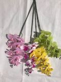Artificial Butterfly Orchid Silk Flower Wedding Living Room Art Decoration F1