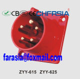 16A IP44 Ce Certificated 5p Industrial Plug for Wall Mounting