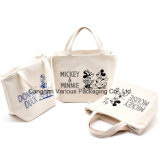 OEM Cotton Canvas Lunch Bag, Picnic Tote Bag