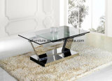 Fashion Design Glass Top Coffee Table 848#
