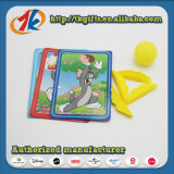 Child Game Plastic Small Sporting Shooter Toy with Funny Card