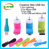 Hotselling Mini USB Fan for Android Ios Phone and Powerbank