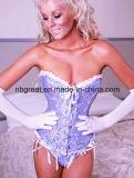 Women′s Vintage Palace Jacquard Body Shaper Boned Corset