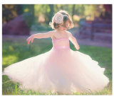 OEM Couture Pink Lovely Service Price Princess Dress Wedding Dress [Can Be Custom Color]