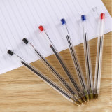 Promotional Stationery Wholesale Plastic Gift Black Ball Point Pen with High Quality