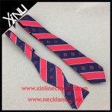 100% Silk Custom Woven Bow Tie Neck Tie Set for Men