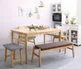 Nordic Style Best Price Italian Wood Dining Table (NK-DTB101)