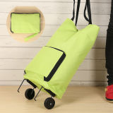 Wheeled Trolley Travel Shopping Bag for Promotion