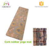 Recycled Cork Yoga Mat, Portable Exercise Mat, Fitness Mats