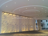 12mm or 15mm Low Iron Tempered Glass with 4mm Marble Laminated Glass for Elevator Hall