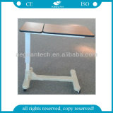 AG-Obt005 Top Quality Hospital Patient Room Durable Hospital Food Table