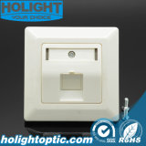 Germany RJ45 Cat5e CAT6 80 Type Network Faceplate
