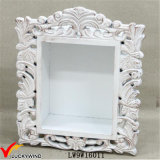 Vintage Wooden Wall Frame with Containing Space for Decor
