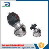 Stainless Steel Pneumatic Tank Bottom Valve Drain Valve (DY-V129)