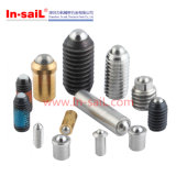 DIN High Precision Stainless Steel Ball Spring Plunger