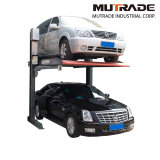Hydraulic Vertical Vehicle Parking Double Stacker Car Lift Machine