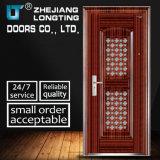 Anti-Theft Steel Door with Small Door and Window