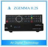 Dual Core Linux OS DVB-S2+DVB-T2/C Satellite Receiver Zegmma H. 2h