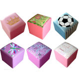 Colorful Pattern Children Stool Baby Furniture (SXBB-142)