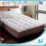 Star Hotel Used Soft Microfiber Filling Wholesale Mattress Topper