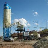 Hzs50 Centralized Control Concrete Batching Station 50m3/H